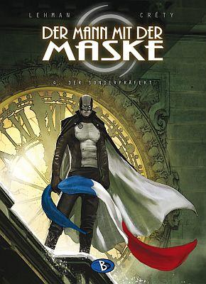 Der Mann mit der Maske, Band 4 (Bunte Dimensionen)