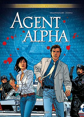 Agent Alpha Gesamtausgabe, Band 4 (Comicplus)