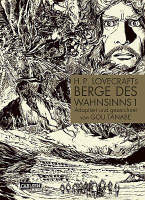 """H.P. Lovecrafts """"Berge des Wahnsinns"""", Band 1 (Carlsen)"""