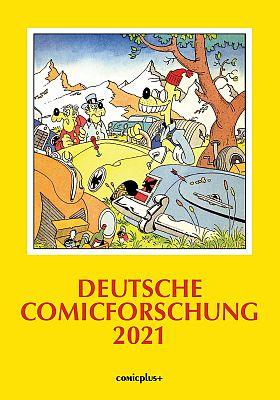 Deutsche Comicforschung 2021 (Comicplus)