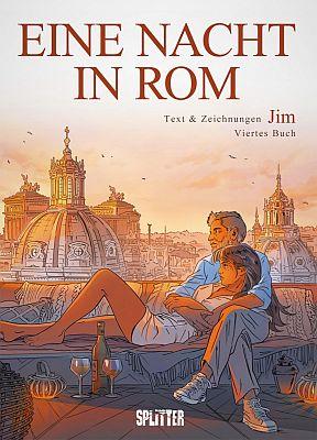 Eine Nacht in Rom, Band 4 (Splitter)