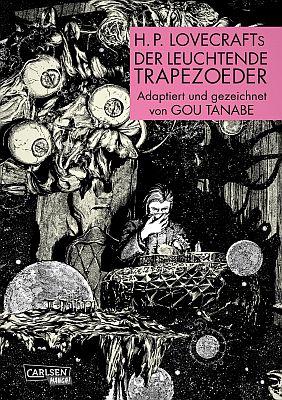 """H.P. Lovecrafts """"Der leuchtende Trapezoeder"""" (Carlsen)"""
