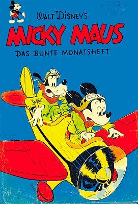 Micky Maus - Das bunte Monatsheft Nr. 1/1951  © Egmont Ehapa Media