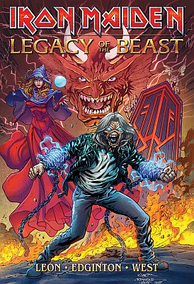 Iron Maiden: Legacy of the Beast (Heavy Metal Magazine)